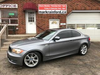 Used 2011 BMW 1 Series 128i 6spd Premium M Sport 6 spd Manual Sunroof for sale in Bowmanville, ON