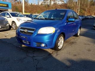 Used 2009 Chevrolet Aveo LT for sale in Coquitlam, BC