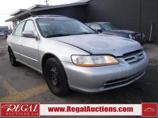 Used 1999 Honda Accord EX 4D Sedan V6 for sale in Calgary, AB
