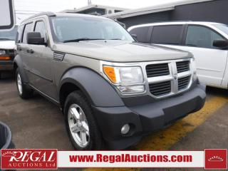 Used 2007 Dodge NITRO 4WD  4D UTILITY for sale in Calgary, AB