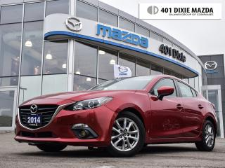 Used 2014 Mazda MAZDA3 GS-SKY 6sp, 1.9% FINANCE AVAILABLE, MOON-ROOF for sale in Mississauga, ON