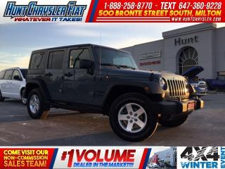 Used 2015 Jeep Wrangler Unlimited 4 DOOR/AUTO/HARDTOP/AC/ S PACKAGE!!! for sale in Milton, ON