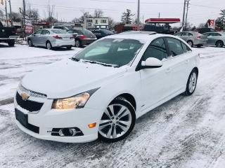 Used 2011 Chevrolet Cruze RS PKG LT / SUNROOF / ALLOY'S / *AUTO* for sale in Cambridge, ON