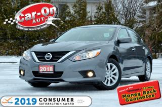 Used 2018 Nissan Altima REAR CAM HTD SEATS FULL PWR GRP LOADED for sale in Ottawa, ON