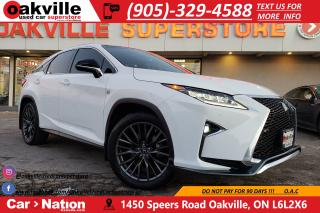Used 2017 Lexus RX 350 F-SPORT 3 | RED INT | PANO ROOF | NAV | B/U CAM for sale in Oakville, ON