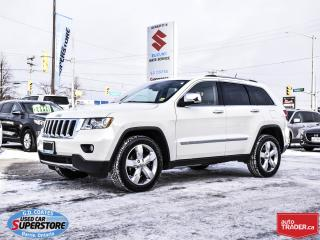 Used 2012 Jeep Grand Cherokee LIMITED 4X4 for sale in Barrie, ON