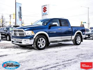 Used 2011 RAM 1500 LARAMIE CREW CAB 4X4 for sale in Barrie, ON