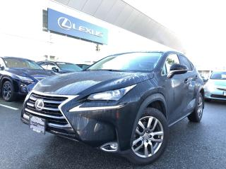 Used 2017 Lexus NX 200t 6A Premium PKG, NO Accidens, Local, LOW KMS for sale in North Vancouver, BC