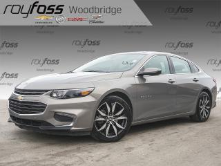 Used 2018 Chevrolet Malibu LT NAV, SUNROOF, BOSE for sale in Woodbridge, ON