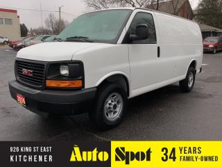 Used 2016 GMC Savana 1WT/LOW, LOW KMS/PRICED-QUICK SALE! for sale in Kitchener, ON