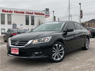 Used 2015 Honda Accord Sedan Sport  | Sunroof | Rear Camera | Heated Seats for sale in Mississauga, ON