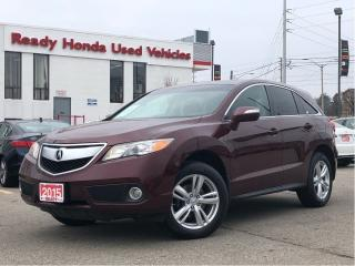 Used 2015 Acura RDX Tech Pkg  | Navigation | leather | Sunroof for sale in Mississauga, ON
