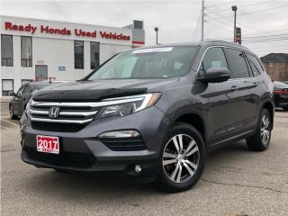 Used 2017 Honda Pilot EX-L Navi - Leather - Sunroof - Lane Watch for sale in Mississauga, ON