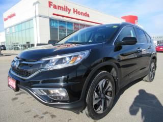 Used 2016 Honda CR-V Touring, FREE WARRANTY! for sale in Brampton, ON