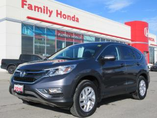 Used 2016 Honda CR-V EX, HONDA CERTIFIED! for sale in Brampton, ON