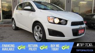 Used 2014 Chevrolet Sonic LT ** Heated Seats, Backup Cam, Remote Start ** for sale in Bowmanville, ON
