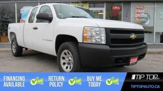 Used 2008 Chevrolet Silverado 1500 WT ** Clean Carfax, 5.3L V8, 4x4, Well Maintained for sale in Bowmanville, ON
