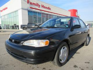 Used 1998 Toyota Corolla CE, REMOTE STARTER! for sale in Brampton, ON