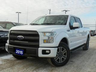 Used 2015 Ford F-150 LARIAT 3.5L V6 ECO LEATHER NAVIGATION for sale in Midland, ON