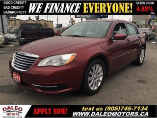 Used 2011 Chrysler 200 LX | ONLY 89KMS | CERTIFIED | FINANCING AVAILABLE for sale in Hamilton, ON