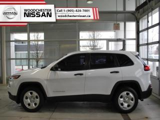 Used 2015 Jeep Cherokee Sport  - $133.41 B/W for sale in Mississauga, ON
