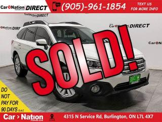 Used 2016 Subaru Outback 2.5i Touring Package| AWD| SUNROOF| for sale in Burlington, ON