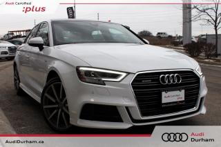 Used 2018 Audi A3 2.0T Technik + S-Line | Tech Pkg | Fully Loaded! for sale in Whitby, ON