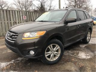 Used 2011 Hyundai Santa Fe GLS Premium AWD Sunroof Heated Front Seats for sale in St Catharines, ON