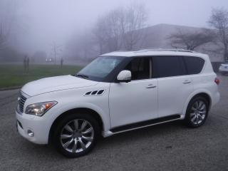 Used 2013 Infiniti QX56 4WD 3rd row seating for sale in Burnaby, BC