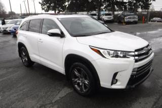 Used 2018 Toyota Highlander Limited AWD V6 for sale in Burnaby, BC