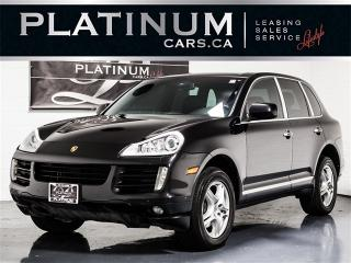Used 2010 Porsche Cayenne AWD, NAVI, SUNROOF, Heated Leather for sale in Toronto, ON
