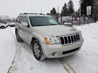 Used 2008 Jeep Grand Cherokee OVERLAND-DIESEL-NAVI-LOW MONTHLY PAYMENTS!! for sale in Edmonton, AB