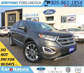 Used 2015 Ford Edge Titanium | AWD | NAV | PANOROOF for sale in Brantford, ON