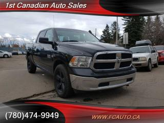 Used 2014 RAM 1500 BIG HORN-CREW-ACCIDENT FREE-LOW Monthly PAYMENTS!! for sale in Edmonton, AB