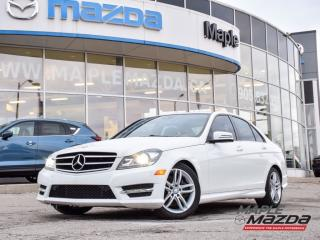 Used 2014 Mercedes-Benz C-Class C300 4matic Nav.Leather..Camera..AWD for sale in Maple, ON