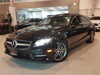 Used 2014 Mercedes-Benz CLS-Class CLS550 4MATIC NO ACCIDENTS-NAVI-ROOF-CAM-SUNSHADE for sale in Toronto, ON