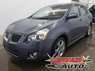 Used 2009 Pontiac Vibe AWD A/C for sale in Trois-Rivières, QC