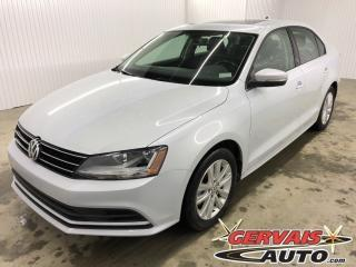 Used 2017 Volkswagen Jetta Wolfsburg T.ouvrant for sale in Trois-Rivières, QC