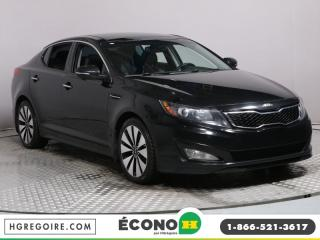 Used 2013 Kia Optima SX A/C CUIR TOIT for sale in St-Léonard, QC