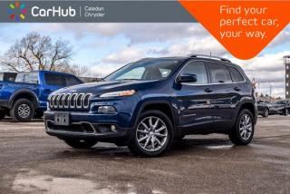 Used 2018 Jeep Cherokee Limited|4x4|Navi|Bluetooth|Backup Cam|Leather|Heated Front Seats|R-Start|18