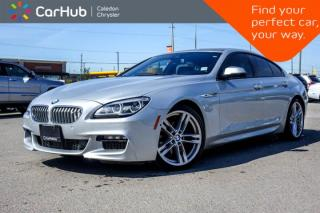 Used 2016 BMW 6 Series 650i xDrive|Navi|Sunroof|Bluetooth|Heated Front & Rear Seats|Backup Cam|19