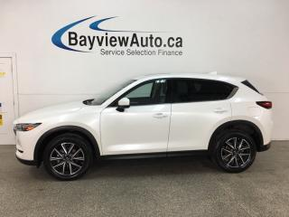 Used 2018 Mazda CX-5 GT - PUSH START! SUNROOF! REVERSE CAM! ALLOYS! BOSE SOUND! for sale in Belleville, ON