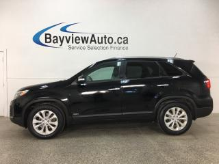 Used 2015 Kia Sorento EX V6 - HTD FRONT & REAR LTHR! REVERSE CAM! PANOROOF! BLUETOOTH! PUSH START! for sale in Belleville, ON