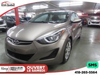 Used 2014 Hyundai Elantra GL SIÈGES CH for sale in Québec, QC