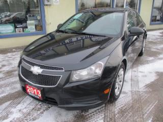 Used 2013 Chevrolet Cruze 6-SPEED MANUAL LS MODEL 5 PASSENGER 1.8L - ECO-TEC.. CD/AUX/USB INPUT.. KEYLESS ENTRY.. for sale in Bradford, ON