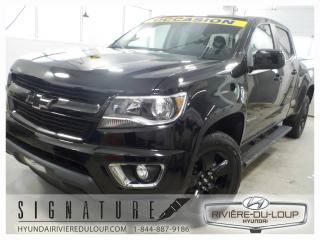 Used 2016 Chevrolet Colorado LT,BLACK EDITION,CREW CAB,4X4,*45000 KMS for sale in Rivière-Du-Loup, QC