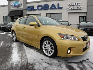 Used 2011 Lexus CT 200h Premium HYBRID LEATHER SUNROOF. for sale in Ottawa, ON