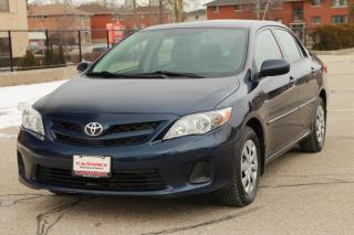 Used 2013 Toyota Corolla LE ONLY 48K | Heated Seats | CERTIFIED for sale in Waterloo, ON