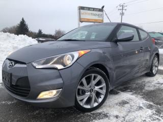 Used 2017 Hyundai Veloster Auto with Bluetooth and Alloys with Fog Lights! Steering Wheel Controls, Pwr Windows, Keyless Entry for sale in Kemptville, ON