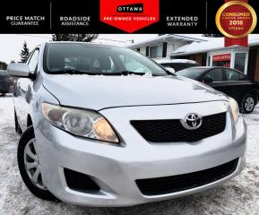 Used 2009 Toyota Corolla for sale in Carp, ON